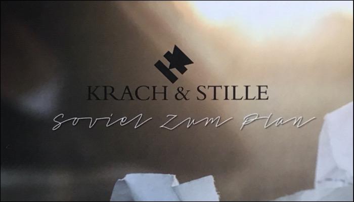 Krach & Stille Album Soviel Zum Plan veröffentlicht