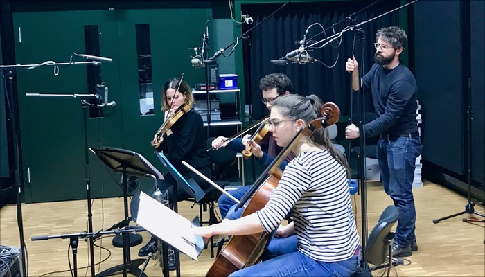 To Athena Aquatic Ballet Strings Recording