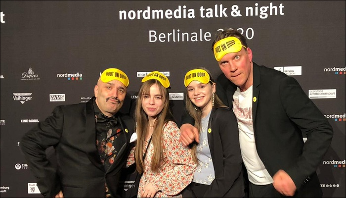 Julia Giampietro auf der Berlinale