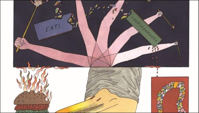 Darrifourcq, Hermia. Ceccaldi veröffentlichen das Album Kaiju eats Cheeseburgers veröffentlicht