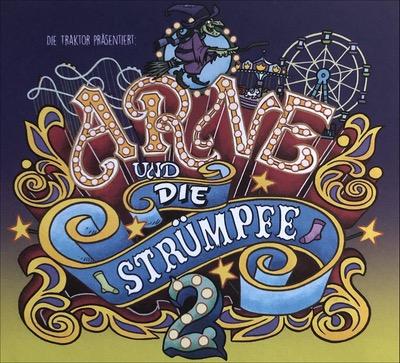 Die Traktor Arne und die Strümpfe 2 Album Cover