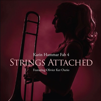 Karin Hammar Fab 4 Strings Attached Album Cover