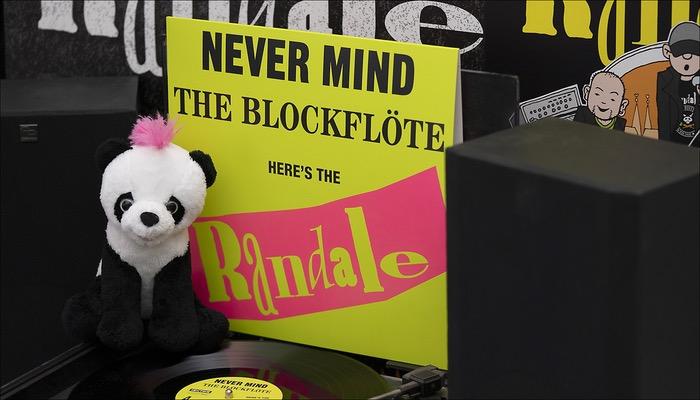 Randale - Never Mind The Blockflöte Vinyl Album veröffentlicht