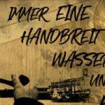 Rauschflut | Immer eine Handbreit Wasser unterm Kiel Single veröffentlicht