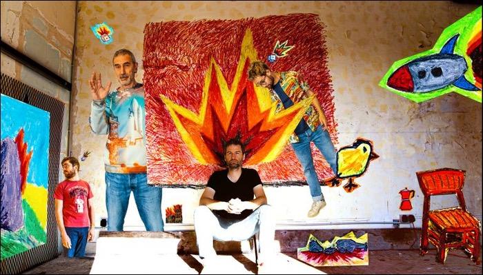Roberto Negro hat das Album Papier Ciseau veröffentlicht
