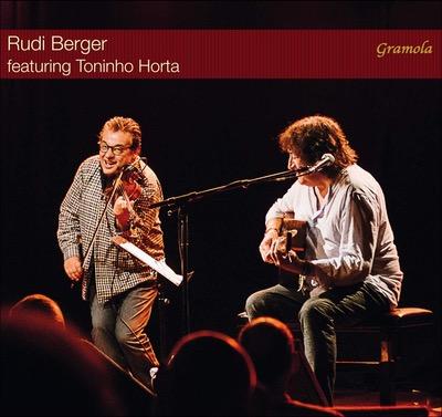 Rudi Berger featuring Toninho Horta Album Cover