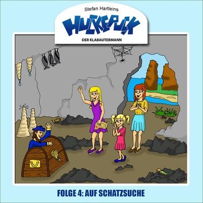 Der Klabautermann Huckepuck Auf Schatzsuche Cover